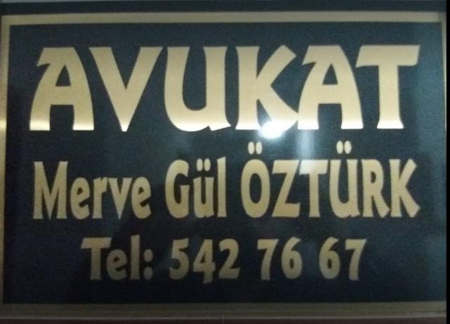 AVUKAT MERVE GÜL ÖZTÜRK